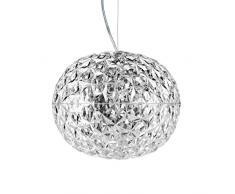 Planet LED lampada a sospensione Design kristall/H 27cm/ Ø 33cm