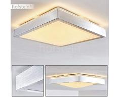 LED Plafoniera Quadrata Design Bagno Sora 12 Watt