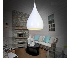 illuminazione a LED minimalista soggiorno moderno lampadario sala da pranzo camera da letto corridoio balcone bar appesi a testa singola creativi della moda