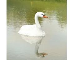 Fiaccola 5889lo Floating Swan, by Fiaccola