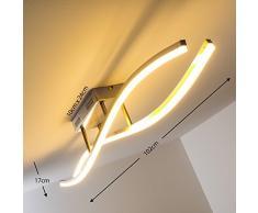 LED Plafoniera Lampada da Soffitto Design Moderno Atina Onde Luminose 3000 Kelvin