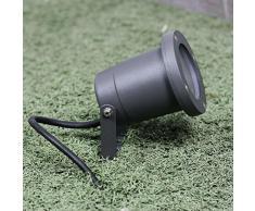Giardino faretto Con Picchetto in grigio GU10 IP54 per esterno faretto per laghetto lampade