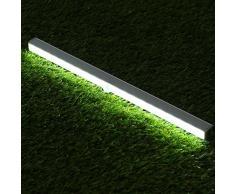 Elfeland Luci LED Armadio con Cornice a Baionetta, USB Wireless PIR Lampada, Luci con Sensore di Movimento, Alta Sensibilità, Tre Modi di Commutazione, Buona Qualità Risparmio Energetico e Protezione Ambientale