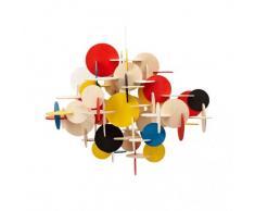 Costruzione Pendant Lampadario Design multicolor/Größe 2/H51cm