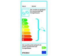 EGLO - Lampadario 4 spot LED per cameretta bambini GU10 35 W, lampadine incluse, 64.5 x 10 cm, colore: Multicolore