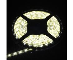3528 SMD Lampada Calda Bianca Impermeabile 5M 300Leds LED Lampada Tubo Neon + Regolatore LD124