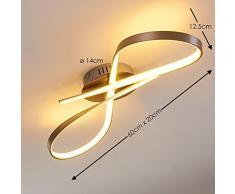 Plafoniera LED Arena - 17 Watt - 1600 Lumen - Bianco caldo [Classe energetica A]