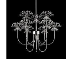 Creative cristallo Lampadario moderno per soggiorno, motivo dente di leone, studi-Lampada a sospensione, struttura a sospensione illuminazione camere da letto