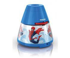Philips e Disney, Spiderman, Lampada da Tavolo Proiettore LED