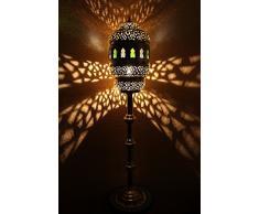 Lampada a stelo marocchina hurriya oro-multi grande
