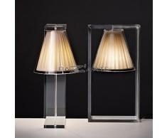 Kartell Light-Air Lampada da Tavolo, Tessuto, tela