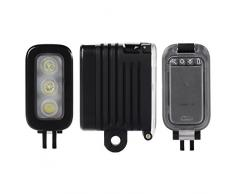 XCSOURCE Impermeabile Spot LED Spot Flash Light per GoPro Hero 4 Sessione 3+ Camera xiaomi OS431
