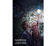 vitutech Lampada LED da campeggio, Lampade LED Lamp Tenda LED Light lanterna lampada per escursionismo, pesca, scrivania, campeggio, tenda, giardino, barbecue (multicolore Confezione di 4)