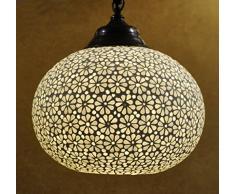 Turkish Design tradizionale Home Décor-Lampada a sospensione, 20 x 30 Cm