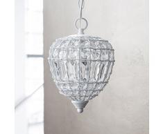 Hanging cristalli bianchi lampada AMADEUS con lampadario pendente a goccia luce