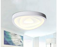 Lampada a sospensione moderna moderna Idea LED per studio / Camera da letto / Soggiorno Iron Art Personalità atmosferica Luce creativa calda e romantica a soffitto, la luce calda 64 * 8cm 80W