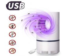 Thysong Lampada Antizanzare UV per Zanzare e Insetti con USB Nessuna Sostanza Chimica Atossica Inodore Mosquito Killer