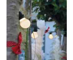 SELETTI Bella Vista Set 10 luci a LED da giardino Cavo nero