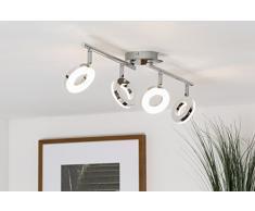 Plafoniere Rotonde Led : Plafoniera led da soffitto i lampada moderna luci