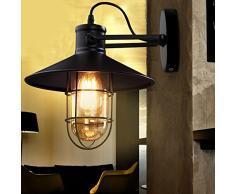 Vintage lampada da parete annstory creative industriale retrò