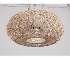 Lampadario Camera Da Letto Fai Da Te : Lampadario in rattan acquista lampadari in rattan online su livingo