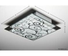 Plafoniera Quadrata Vetro : Plafoniere in vetro hofstein da acquistare online su livingo