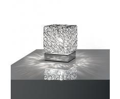 Ideal Lux Quadro TL1 Lampada, Alluminio