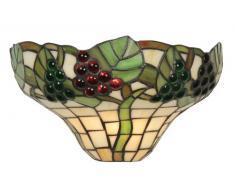 Oaks Lighting OT0209 - Lampada Tiffany, decorazione uva