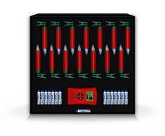 Krinner Lumix Deluxe Mini 75346 - Set di 14 candele LED IR, a pile, senza cavi, per albero di Natale, luce bianca calda, colore: rosso