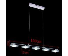 KJLARS moderna lampada a sospensione a LED regolabile in metallo lampsdari