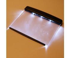 Luminoso Regolare Notte libro della lettura LED della luce della lampada Pannello