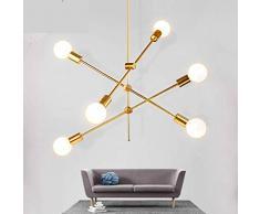 Lampadari antichi color oro da acquistare online su livingo