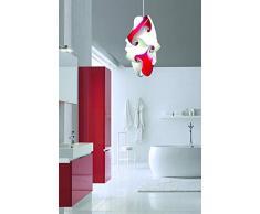 Lampada a sospensione Design SENSITIVE 30x45 cm corridoio ingresso bagno cucina Consegnato MONTATO Lampadario da soffitto moderno cucina sala salone stanza da letto