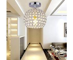DAXGD Moderna Luce Del Soffitto, Mini Lampade Da Soffitto Creativa Plafoniera Lampadario Per Corridoio, Scale, Ingresso, E27, diametro: 18 cm
