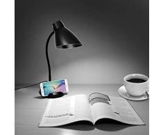 Lampade pieghevole scrivania, Juning LED lampada da tavolo, lampada da tavolo pieghevole dimmerabile 3W LED Touch Control, 3 livelli di luminosità, infermieri occhio lampada del libro per i bambini