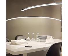 LED design ho-lunghezza 14 watt lampada a sospensione KÓ¼Chen piegato luce Eglo 32048