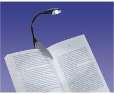 Aidapt VM967B - Luce della lettura, nero e grigio
