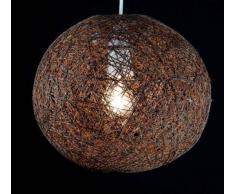 lampadario a palla : ... di trucioli di Legno Rattan lampadario / lampadario / lampadario