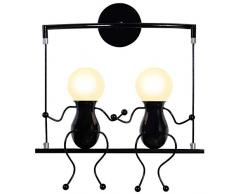 Appliques moderne color nero da acquistare online su livingo