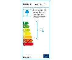 DALBER 44023 Decoline 3 soffitto della lampada della luce, rosso/rosa / blu/verde / giallo, plastica
