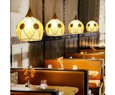 Cucina nordica LED Sala da pranzo Lampada a sospensione in vetro a sfera di alta qualità Lampada a sospensione a soffitto E27 ( design : 1 testa )