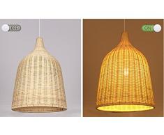 MSAJ-Moderno, semplice, soggiorno, sala da pranzo, corridoio, rattan, lampadario