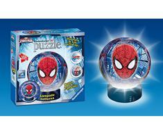 Ravensburger 12256 - 3D Puzzle Lampada Notturna Spiderman