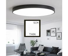Lampada a sospensione moderna per lampade a sospensione a LED per camera da letto/salotto/bagno/ristorante/studio/corridoio/cucina/ingresso/balcone,luce bianca di 23cm-bianco