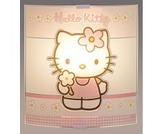 Hello Kitty Applique-Plafoniera In Vetro