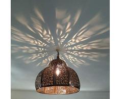 lampadario plafoniera marocchino lampada da soffitto lanterna marocchina applique diametro 35 cm