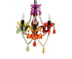 Il lampadario colorato su for Beliani lampadari