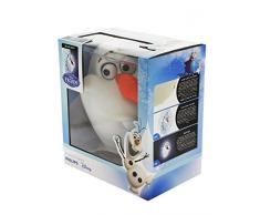 3D Light Fx Lampada LED 3D Philips con Timer-Olaf-Disney-Barcode 8718696126479/3181860101551, Multicolore, 18 x 10 x 24 cm