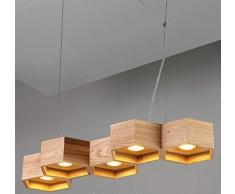 GS~LY di stile Europeo e illuminazione di design creativo di artigianato in legno lampadario/ soggiorno/camera da pranzo/…,un