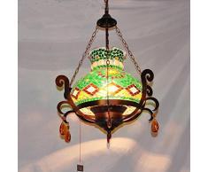 Y&M Europeo in stile mediterraneo pendente boema Marocco luci luci portico del corridoio di cristallo lampada lampadario, a destra , 40w